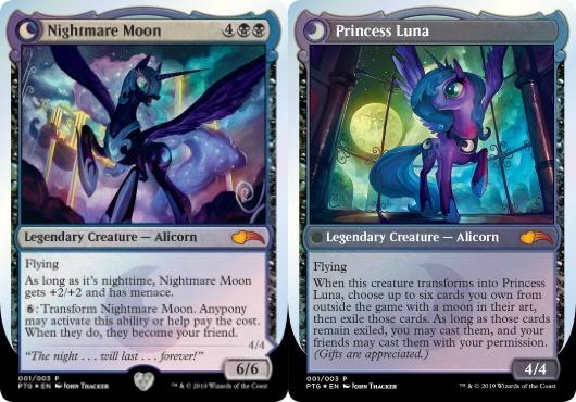 nightmare-moon and princess luna