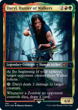 Daryl,Hunter of Walkers